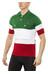 Santini Eroica Italia Kortärmad cykeltröja Herr grön/vit